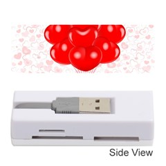 Abstract Background Balloon Memory Card Reader (Stick)
