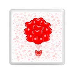 Abstract Background Balloon Memory Card Reader (Square)