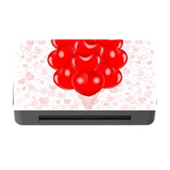 Abstract Background Balloon Memory Card Reader with CF