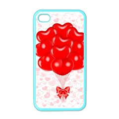 Abstract Background Balloon Apple iPhone 4 Case (Color)