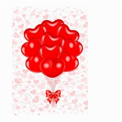Abstract Background Balloon Small Garden Flag (Two Sides)