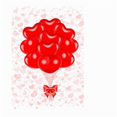 Abstract Background Balloon Large Garden Flag (Two Sides)