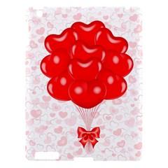 Abstract Background Balloon Apple iPad 3/4 Hardshell Case