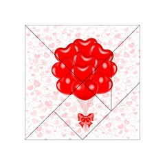 Abstract Background Balloon Acrylic Tangram Puzzle (4  x 4 )
