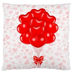 Abstract Background Balloon Large Cushion Case (One Side)