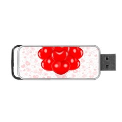 Abstract Background Balloon Portable USB Flash (Two Sides)