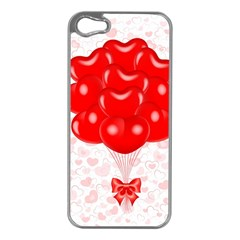 Abstract Background Balloon Apple iPhone 5 Case (Silver)
