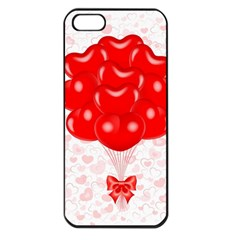 Abstract Background Balloon Apple iPhone 5 Seamless Case (Black)