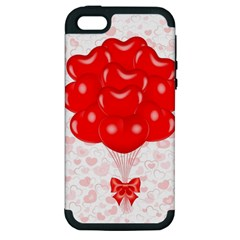 Abstract Background Balloon Apple iPhone 5 Hardshell Case (PC+Silicone)