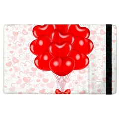 Abstract Background Balloon Apple iPad 2 Flip Case