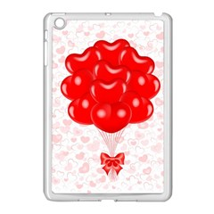 Abstract Background Balloon Apple iPad Mini Case (White)