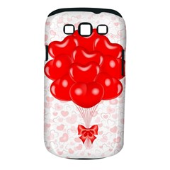 Abstract Background Balloon Samsung Galaxy S III Classic Hardshell Case (PC+Silicone)