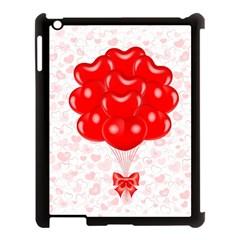 Abstract Background Balloon Apple iPad 3/4 Case (Black)