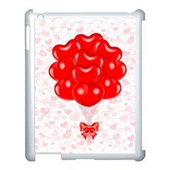 Abstract Background Balloon Apple iPad 3/4 Case (White)