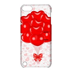 Abstract Background Balloon Apple iPod Touch 5 Hardshell Case with Stand