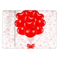 Abstract Background Balloon Samsung Galaxy Tab 10.1  P7500 Flip Case