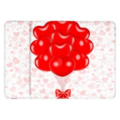 Abstract Background Balloon Samsung Galaxy Tab 8.9  P7300 Flip Case