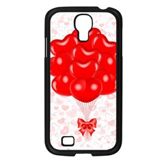 Abstract Background Balloon Samsung Galaxy S4 I9500/ I9505 Case (Black)