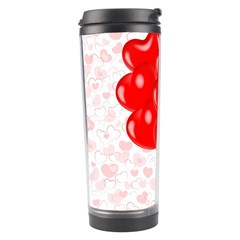 Abstract Background Balloon Travel Tumbler