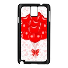Abstract Background Balloon Samsung Galaxy Note 3 N9005 Case (Black)