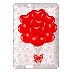 Abstract Background Balloon Kindle Fire HDX Hardshell Case