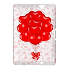 Abstract Background Balloon Kindle Fire HDX 8.9  Hardshell Case