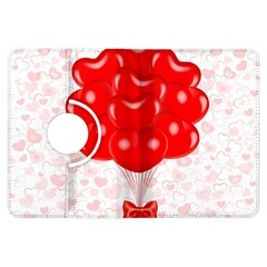 Abstract Background Balloon Kindle Fire HDX Flip 360 Case