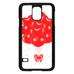 Abstract Background Balloon Samsung Galaxy S5 Case (Black)
