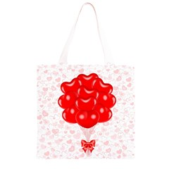 Abstract Background Balloon Grocery Light Tote Bag