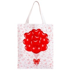 Abstract Background Balloon Classic Light Tote Bag