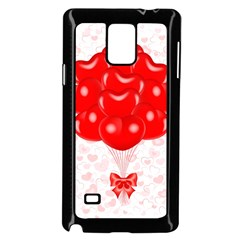Abstract Background Balloon Samsung Galaxy Note 4 Case (Black)