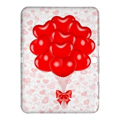 Abstract Background Balloon Samsung Galaxy Tab 4 (10.1 ) Hardshell Case