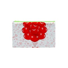 Abstract Background Balloon Cosmetic Bag (XS)