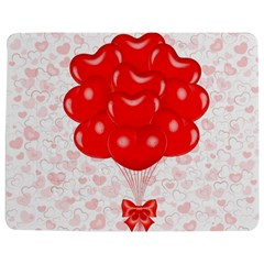 Abstract Background Balloon Jigsaw Puzzle Photo Stand (Rectangular)