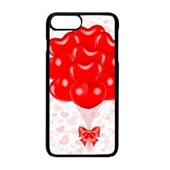 Abstract Background Balloon Apple iPhone 7 Plus Seamless Case (Black)