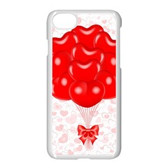 Abstract Background Balloon Apple iPhone 7 Seamless Case (White)