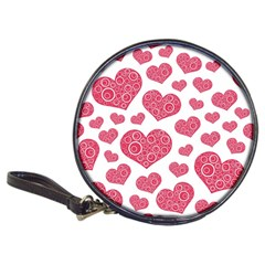 Heart Love Pink Back Classic 20-CD Wallets