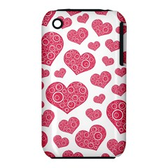 Heart Love Pink Back iPhone 3S/3GS