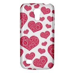 Heart Love Pink Back Galaxy S4 Mini