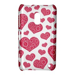 Heart Love Pink Back Nokia Lumia 620