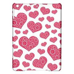 Heart Love Pink Back iPad Air Hardshell Cases