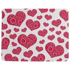 Heart Love Pink Back Jigsaw Puzzle Photo Stand (Rectangular)