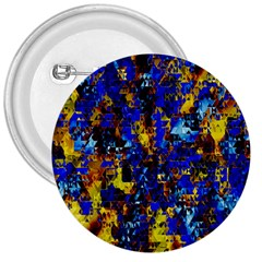 Network Blue Color Abstraction 3  Buttons