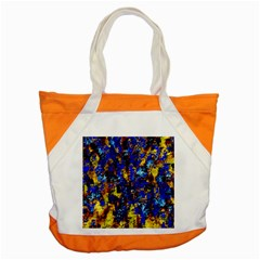Network Blue Color Abstraction Accent Tote Bag
