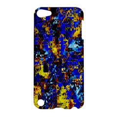 Network Blue Color Abstraction Apple iPod Touch 5 Hardshell Case