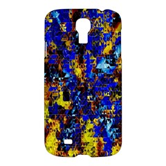 Network Blue Color Abstraction Samsung Galaxy S4 I9500/I9505 Hardshell Case
