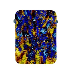 Network Blue Color Abstraction Apple iPad 2/3/4 Protective Soft Cases