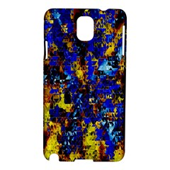 Network Blue Color Abstraction Samsung Galaxy Note 3 N9005 Hardshell Case