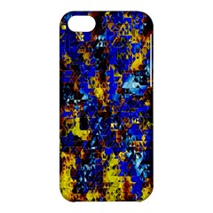 Network Blue Color Abstraction Apple iPhone 5C Hardshell Case