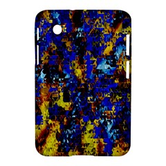 Network Blue Color Abstraction Samsung Galaxy Tab 2 (7 ) P3100 Hardshell Case